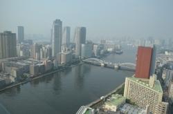 36階部屋から朝の隅田川.jpg