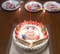 ケーキに灯り.JPG