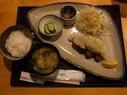 和風カキフライ定食.JPG